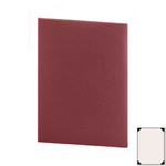 "Risch CH-1V-5.5x8.5 - Menu Covers - 5-1/2"" x 8-1/2"" - Single Panel"