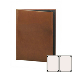 "Risch LTH-2V-5.5x8.5 - Menu Covers - 5-1/2"" x 8-1/2"" - Two Panel"