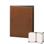 "Risch LTH-4V-5.5x8.5 - Menu Covers - 5-1/2"" x 8-1/2"" - Three Panel"