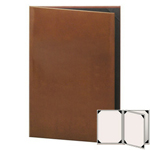 "Risch LTH-4V-8.5x14 - Menu Covers - 8-1/2"" x 14"" - Three Panel"