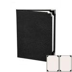 "Risch HAR-ST-2V-5.5x8.5 - Menu Covers - 5-1/2"" x 8-1/2"" - Two Panel"