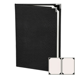 "Risch HAR-ST-2V-8.5x14 - Menu Covers - 8-1/2"" x 14"" - Two Panel"