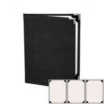 "Risch HAR-ST-3V-5.5x8.5- Menu Covers - 5-1/2"" x 8-1/2"" - Three Panel"