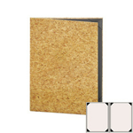 "Risch CORK-2V-5.5x8.5 - Menu Covers - 5-1/2"" x 8-1/2"" - Two Panel"