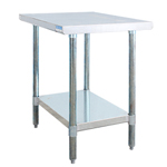 "BK SVT-3024 - Flat Top Worktable - 30"" x 24"""