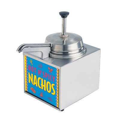 Star 3WLA-HS - Warmer Dispenser Pump - Heated Spout - Nacho Cheese