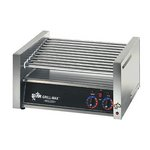 Star 20C - Hot Dog Roller Grill - 20 Dogs Capacity - Chrome Rollers