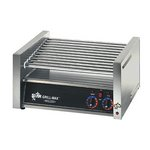Star 45C - Hot Dog Roller Grill - 45 Dogs - Chrome Rollers