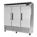 Turbo Air TSR-72SD - Three Door Reach-In Refrigerator - Bottom Mount