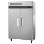 Turbo Air M3F47-2 - Two Door Reach-In Freezer - Top Mount
