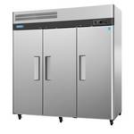 Turbo Air M3F72-3 - Three Door Reach-In Freezer - Top Mount