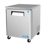 "Turbo Air MUF-28 - Undercounter Freezer - One Door 27-1/2"" W"