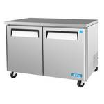 "Turbo Air MUF-48 - Undercounter Freezer - Two Door 48-1/4"" W"