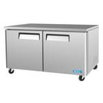 "Turbo Air MUF-60 - Undercounter Freezer - Two Door 60-1/4"" W"