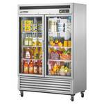 Turbo Air MSR-49G-2 Two Glass Door Reach-In Refrigerator