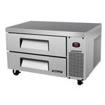 "Turbo Air TCBE-36SDR - Refrigerated Chef Base 35-5/8"" - Two Drawers"