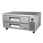 "Turbo Air TCBE-48SDR - Refrigerated Chef Base 47-5/8"" - Two Drawers"