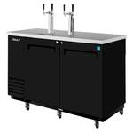 Turbo Air TDB-2SB - Draft Beer Dispenser - 2 Keg - 2 Door - 2 Tap