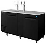 Turbo Air TDB-2SB - Draft Beer Dispenser - 3 Keg - 2 Door - 2 Tap
