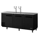 Turbo Air TDB-4SB - Draft Beer Dispenser - 4 Keg - 3 Door - 2 Tap