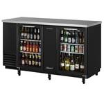 Turbo Air TBB-3SG - Back Bar Cooler - Two Glass Doors
