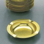 "5-3/4"" Metal Ashtrays - Tablecraft - 575"