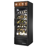 True GDM-23W-LD - Wine Cooler Merchandiser - Black