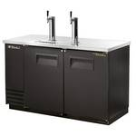 True TDD-2 - Draft Beer Dispenser Cooler - 2 Door