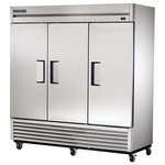 True T-72 - Refrigerator Reach-In - Three Doors - Bottom Mount