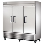 True T-72F - Commercial Freezer - Three Door - Bottom Mount