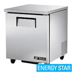 "True TUC-27 - 27-5/8"" Undercounter Refrigerator - One Door"