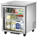 True TUC-27G - Undercounter Refrigerator - One Glass Door