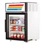 True GDM-5-LD - Countertop Glass Door Refrigerator