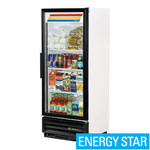 True GDM-12-LD - One Swing Glass Door Cooler Merchandiser