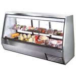 "True TDBD-96-3 - 96"" Double Duty Refrigerated Display Case"