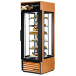 True G4SM-23RGS-LD - Refrigerator Merchandiser - Rotating Shelves
