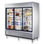 True TSD-69G-LD - Refrigerator Reach-In - Three Glass Sliding Doors