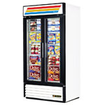 True GDM-35F-LD - Two Glass Door Freezer Merchandiser