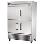 True T-49-4 - Refrigerator Reach-In - Four Half Doors - Bottom Mount