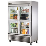 True T-49G-4 - Refrigerator Reach-In - Four Glass Half Doors