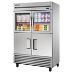 True T-49-2-G-2 - Refrigerator Reach-In - Four Half Doors