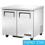 True TUC-36 - Undercounter Refrigerator - Two Door