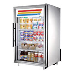 True GDM-7-S-LD - Countertop Glass Door Refrigerator