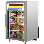 True GDM-7F-S-LD - Countertop Glass Door Freezer
