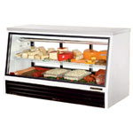 "True TSID-72-3-L - 72"" Single Duty Refrigerated Deli Display Case"