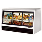"True TSID-72-6-L - 72"" Single Duty Refrigerated Deli Display Case"