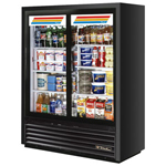 True GDM-41SL - Two Sliding Glass Door Cooler Merchandiser