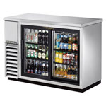 True TBB-24-48G-SD-S-LD - Back Bar Cooler - Two Sliding Glass Doors