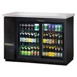 True TBB-24-48G - Back Bar Cooler - Two Glass Swing Doors