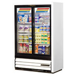 True GDM-33SSL-54-LD - Two Sliding Glass Door Cooler Merchandiser